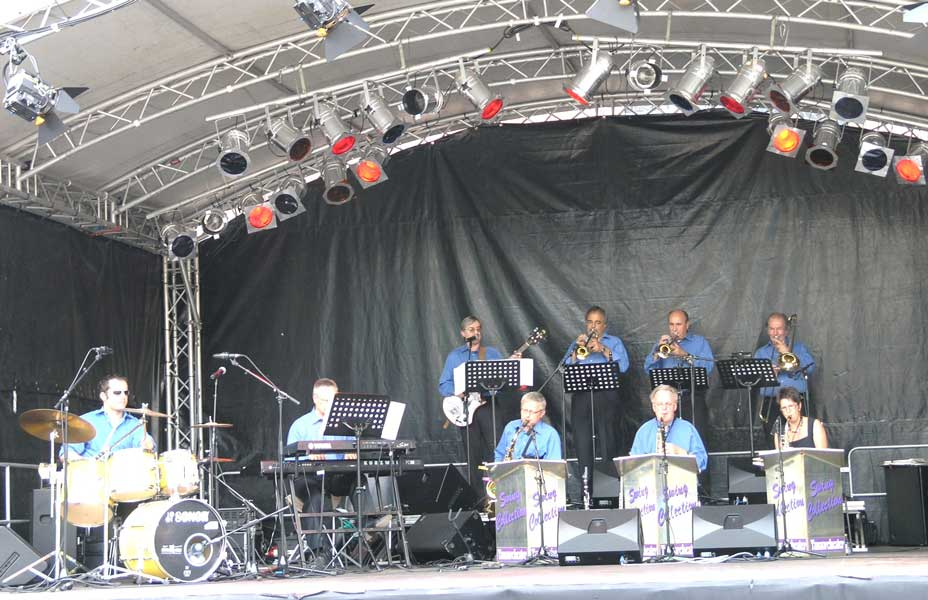 Swing-Collection live beim Stadtfest 2008 in Zweibr�cken